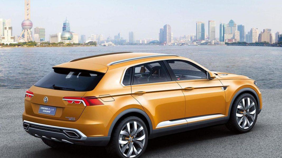 The 2015 CrossBlue Concept of Volkswagen