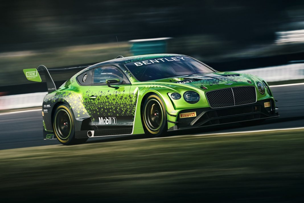 Bentley on Their New Car with M-Sports
