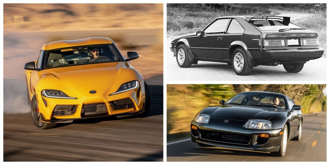 History of Toyota Supra GT Car