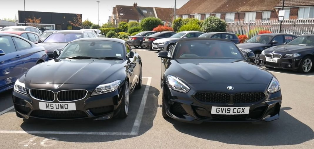 BMW Z4 and the BMW E89