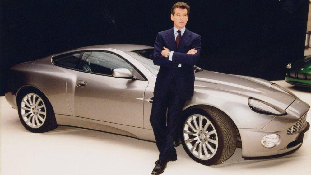 James Bond's Aston Martin Vanquish