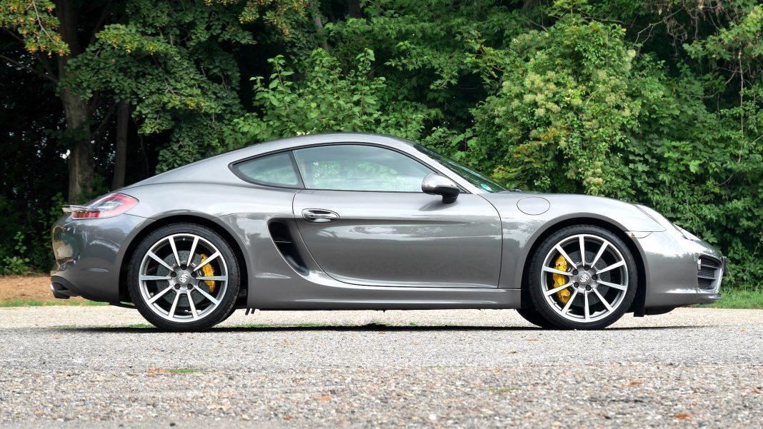 The secret of Porsche Cayman S