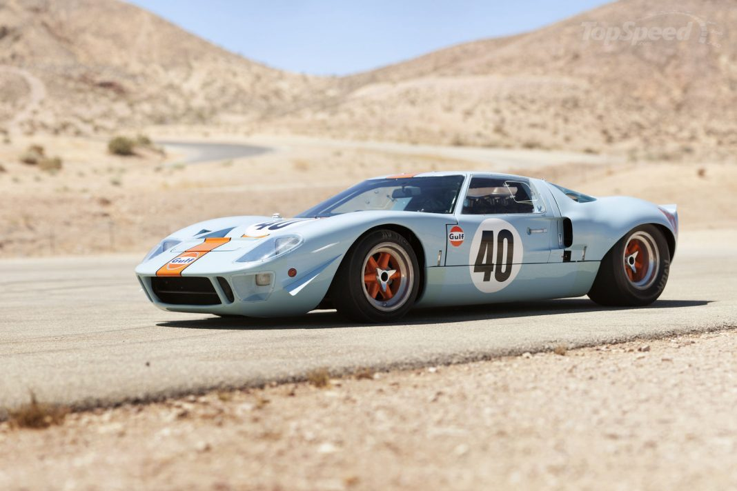 The History of Ford GT 40