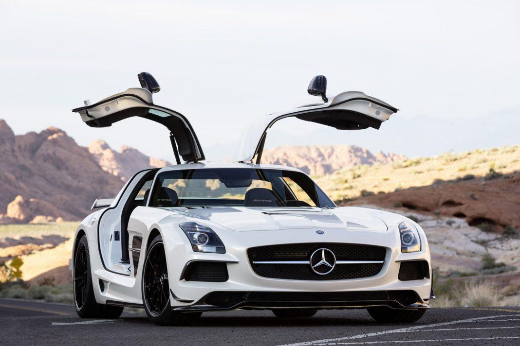 Mercedes Benz SLS GT Car